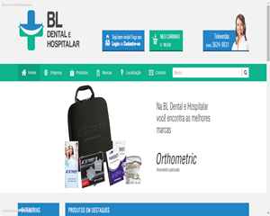BL Dental e Hospitalar está no ar!