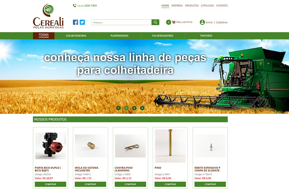 E-commerce Cereali